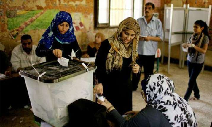poor turnout egypt presidential poll phase two