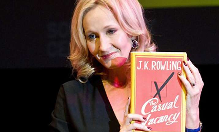 sex and swearwords in j k rowling s first novel for adults