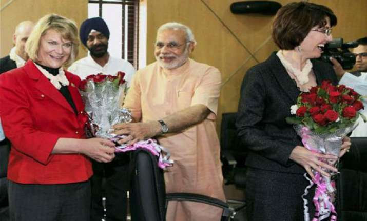 us ties with india too important to be held up on modi issue