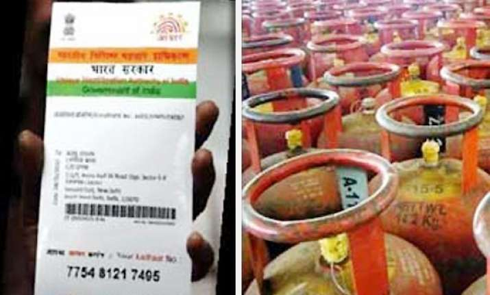 aadhar linked lpg benefit transfer scheme launched in 18