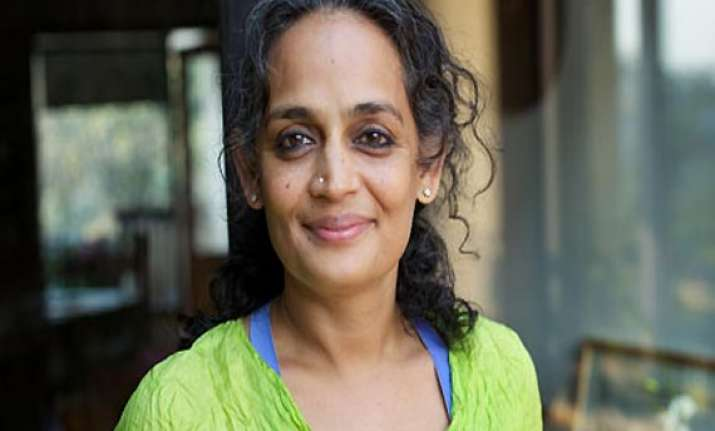 arundhati roy says india now has a democratically elected