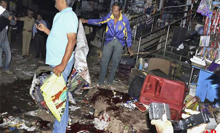 pune blasts accused had done recce of hyderabad 16 dead 117