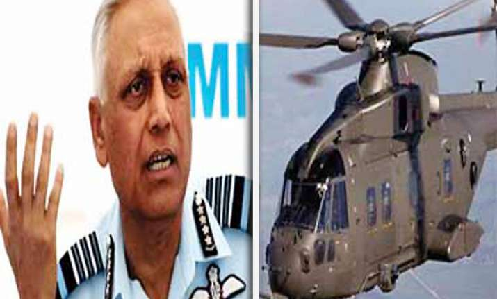 cbi names former air chief tyagi 10 others in chopper deal