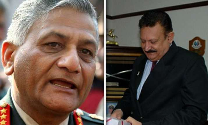 cbi files preliminary inquiry into army chief s complaint
