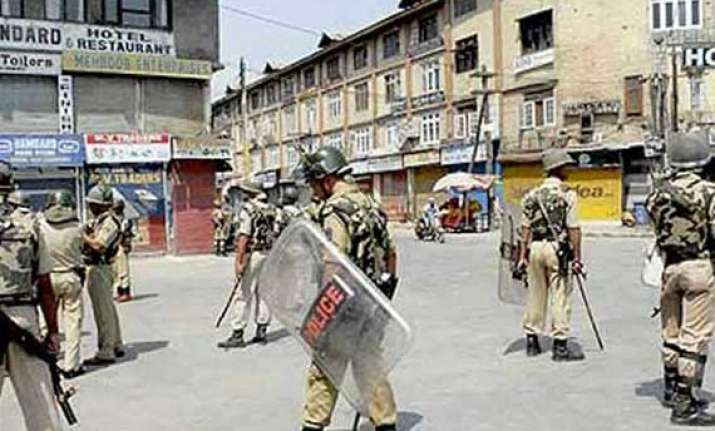 bandh observed in some areas of ramban situation normal