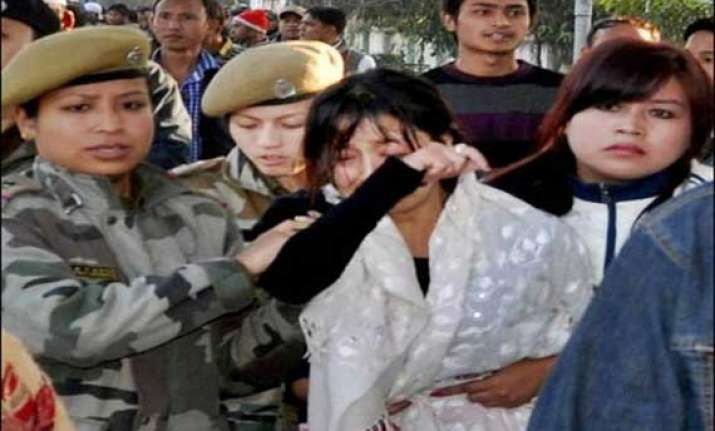 five policemen suspended for manipur firing