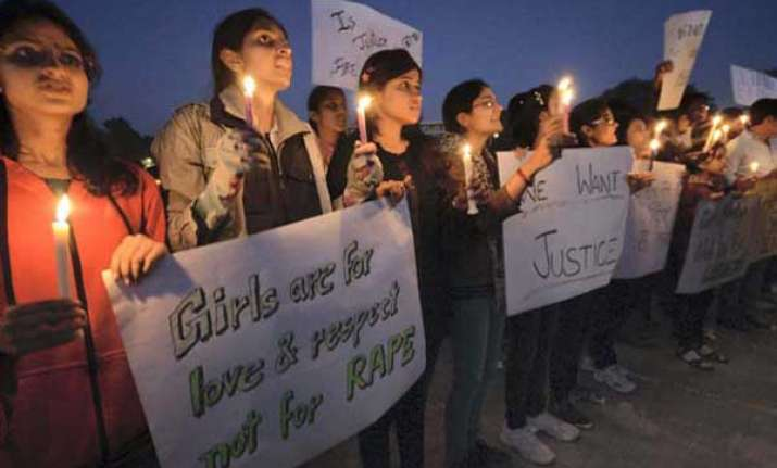 gangrape protests left activists to march from nizamuddin