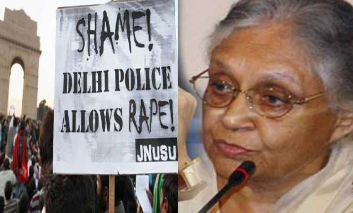 gangrape victim still critical as delhi cm battles police