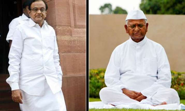 hazare says chidambaram would be in jail had there been jan