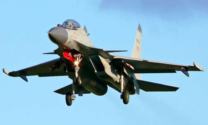 iaf sukhoi jet fighter crashes in jaisalmer ahead of