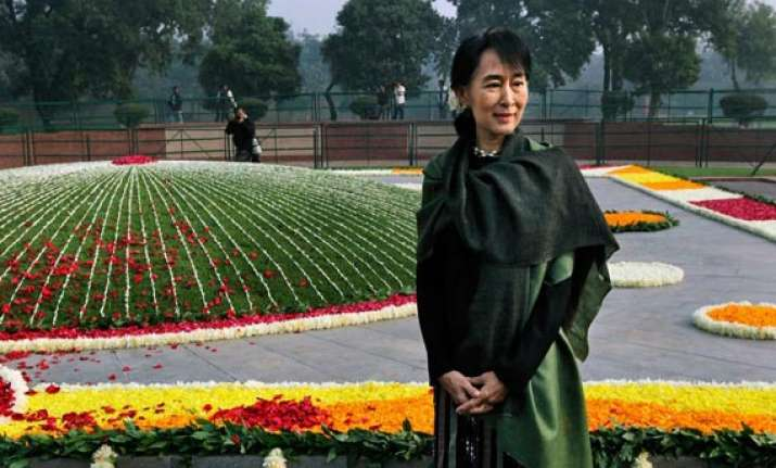 i feel partly a citizen of india says suu kyi