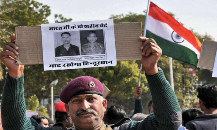 india demands punishment for pak brutes who killed indian
