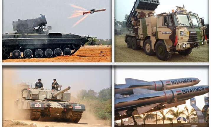 know about indian army s battle weapons
