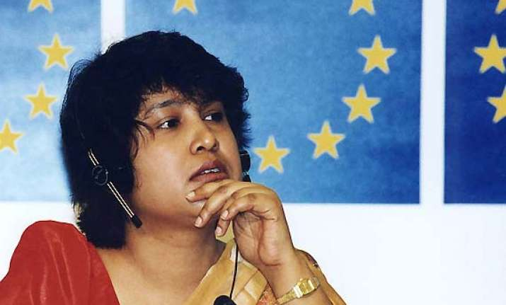 intellectuals bat for taslima s return to kolkata