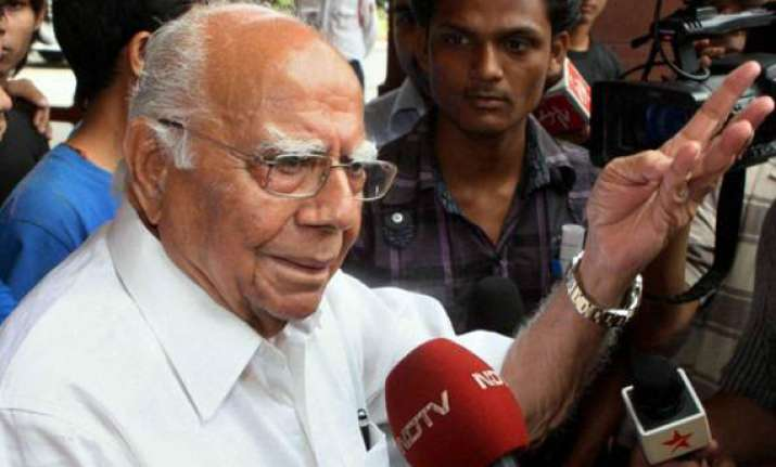 jethmalani demands chidambaram s resignation after ramlila