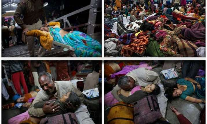 allahabad stampede toll 36 both up govt railways order