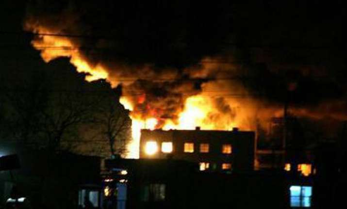 guard perishes in fire at himalaya house in delhi s cp