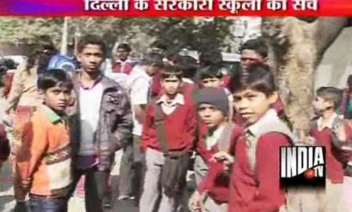 over 26 000 govt school students in delhi found anaemic