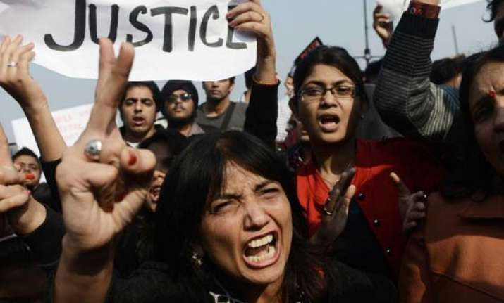 anti rape protests rage on in delhi