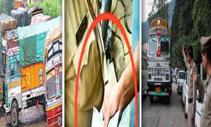shocking indian truckers pay rs 22 000 cr bribes a year on