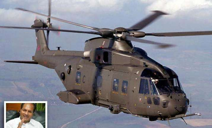 vvip copter deal to be scrapped if charges proved antony