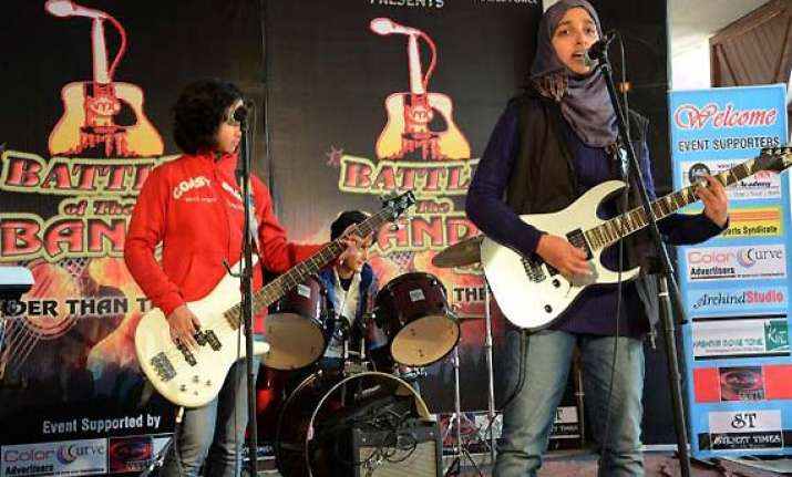 kashmir s all girl rock band member says they disbanded