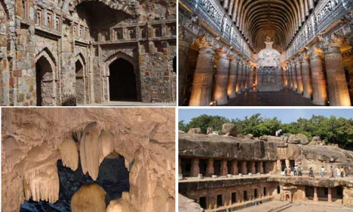 7 amazing rock cut caves in india