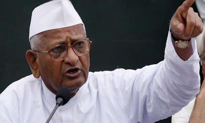 2014 would be year of change says hazare