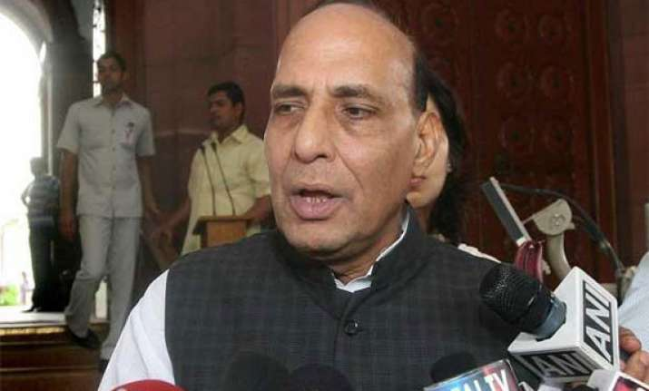 bjp prez rajnath singh ducks questions on modi as pm