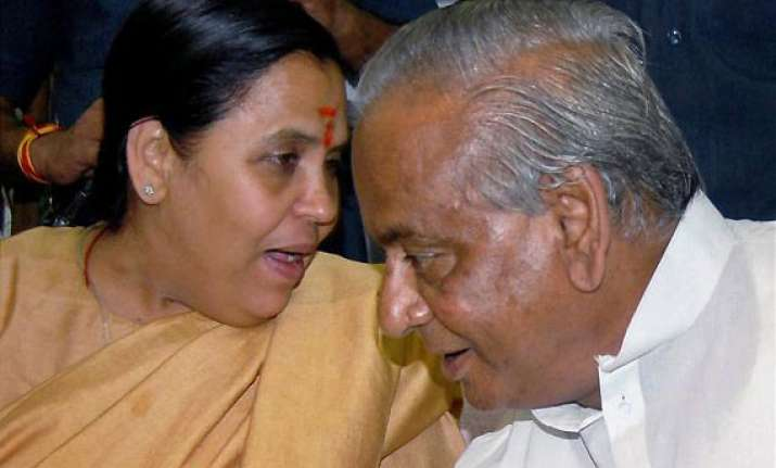 bjp to announce re induction of kalyan singh in mid dec