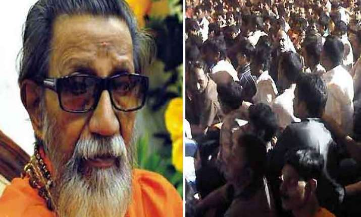 bal thackeray improving crowds diminish