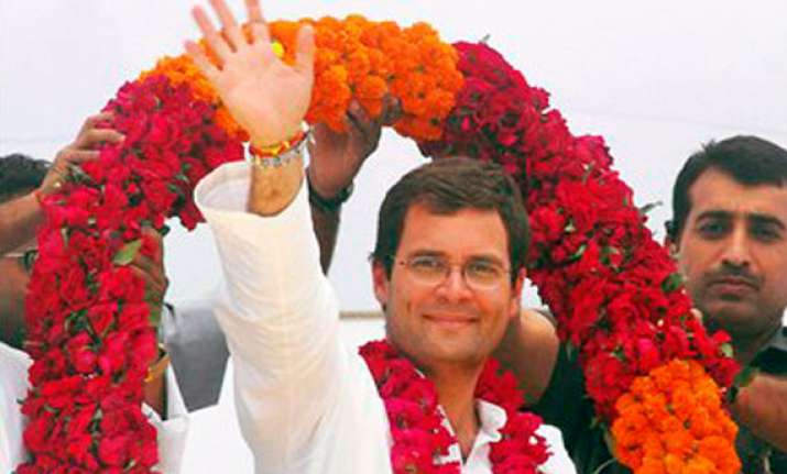 congress a funny party quips rahul