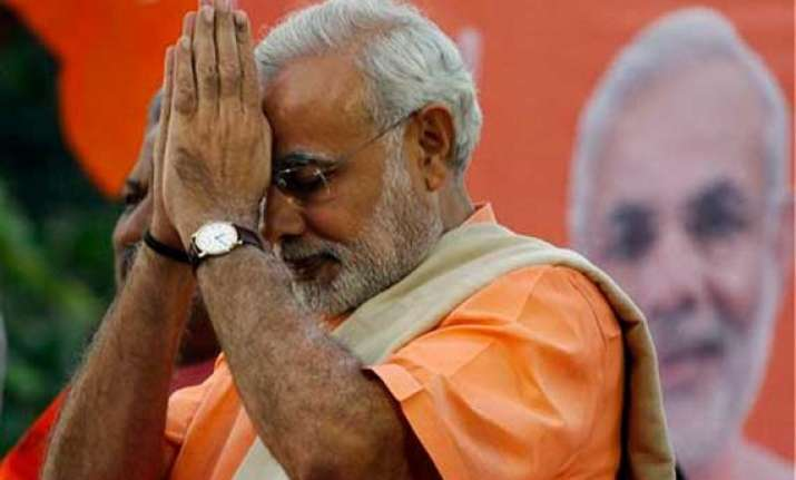 in lord ram s land modi invokes the hindu god to woo voters