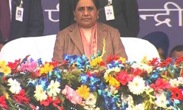 in pics mayawati s savdhan vishal maha rally in lucknow