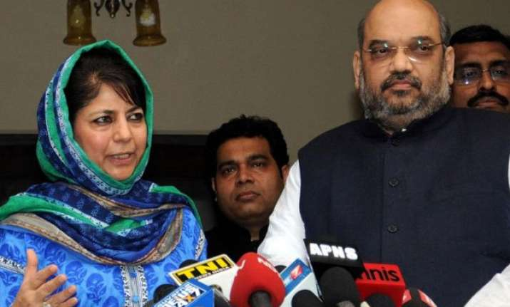 bjp sets deadline for pdp over govt formation in jammu and