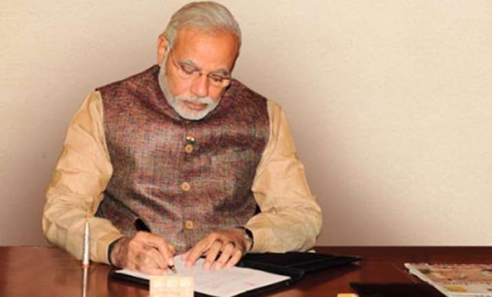 pm modi writes an open letter on completion of 1 year says