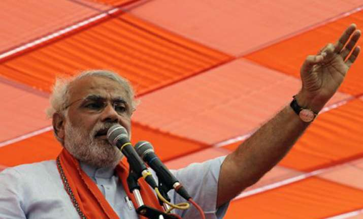 india tv and c voter opinion poll modi all set to score a