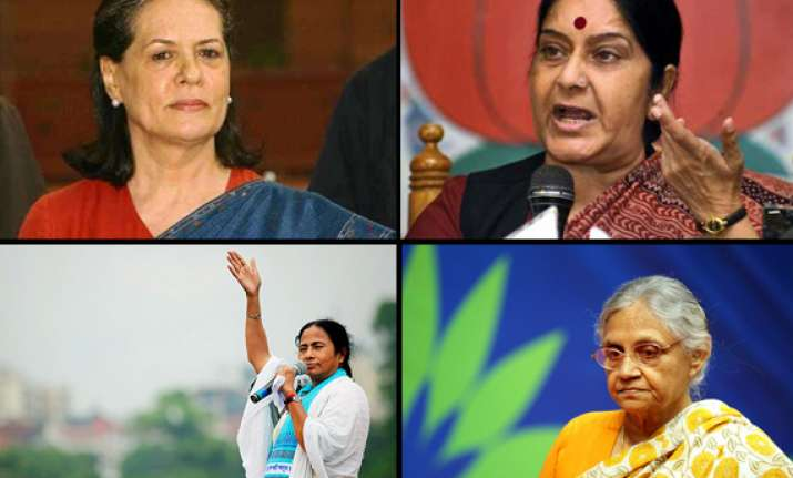 india s 10 most powerful female politicians