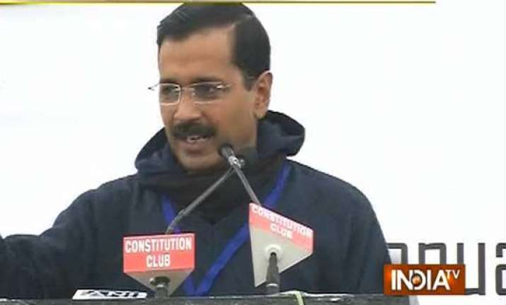 know kejriwal s hit list of politicians to be defeated in