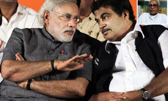 gadkari describes rss leaer vaidya s remarks on modi