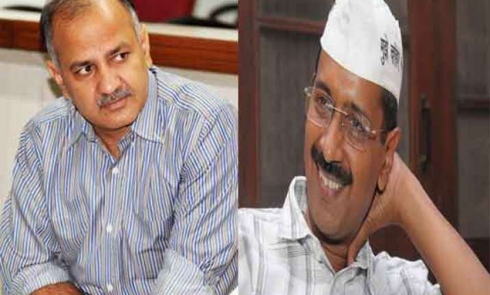 move afoot to make manish sisodia delhi cm in place of