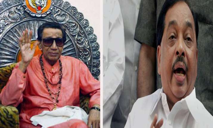 narayan rane describes bal thackeray as guru guide