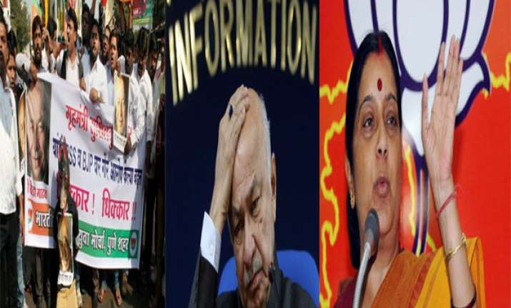 nationwide bjp protests against shinde s saffron terror