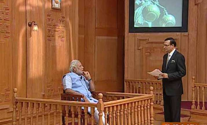 read selective excerpts from narendra modi s interview to