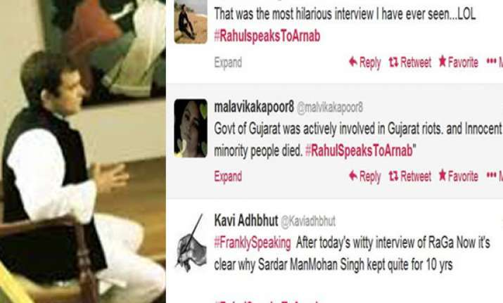 social media flooded with jokes on rahul gandhi interview