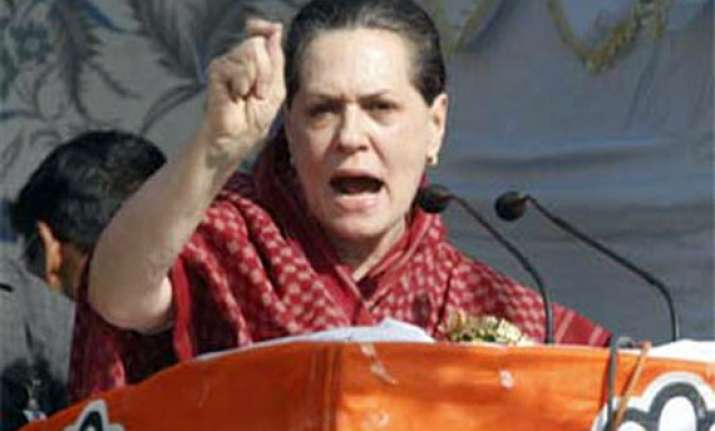 know the new india sonia advises congress at chintan shivir
