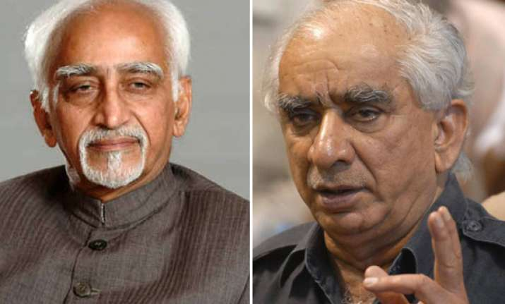stage set for direct fight between ansari jaswant for vp