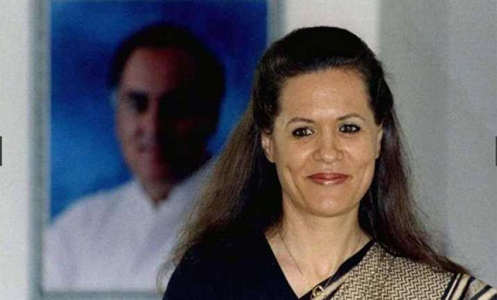 watch pics of sonia gandhi s 15 year journey as congress
