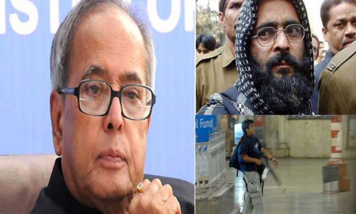 7 mercy petitions rejected in 7 months is pranab mukherjee
