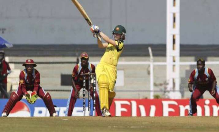 australia elect to bat in women s world cup